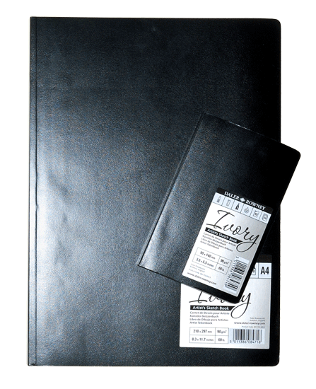 Daler-Rowney Ivory Artist Sketch Book, Soft Cover - Size A4