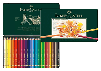 Faber-Castell Polychromos Colored Pencil Set of 36