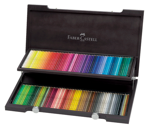 Faber-Castell Albrecht Durer Artists Watercolor Pencil Woodcase Gift Set of 120