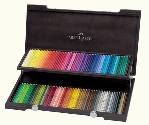 Faber-Castell Albrecht Durer Artists Watercolor Pencil Woodcase Gift Set of 120