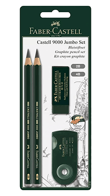 Faber-Castell Castell 9000 Jumbo Sketch Set