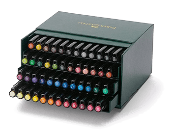 Faber-Castell Pitt Brush Pen Studio Gift Box Set of 48