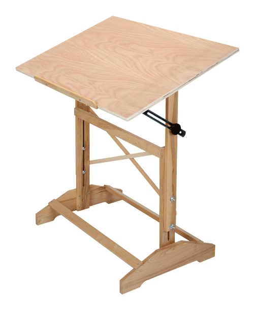 Drafting Pro Table Unfinished Size 24 Quot X 36 Quot Rex Art