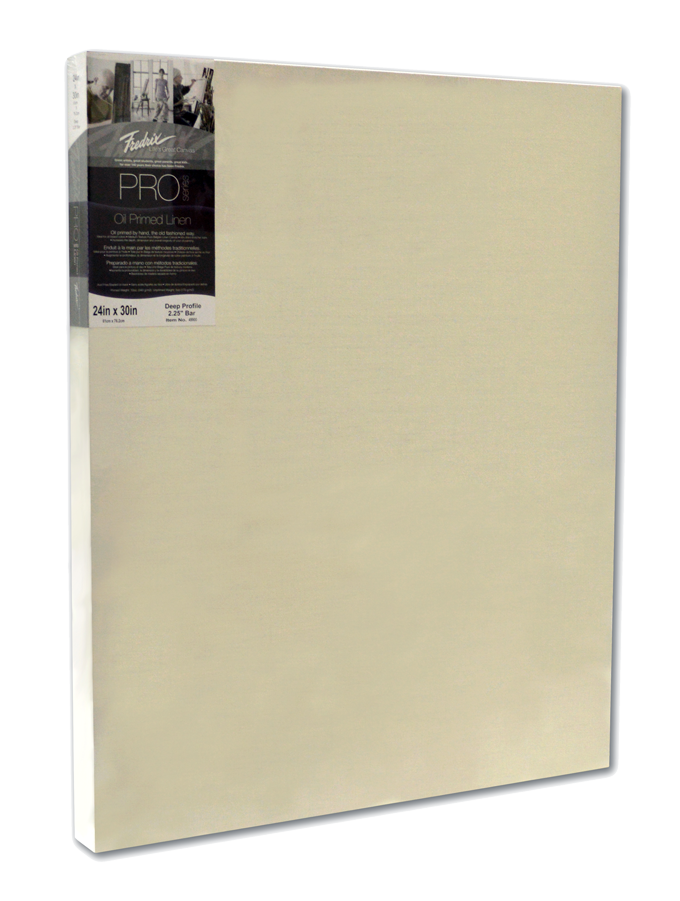 Fredrix Pro Series Oil Primed Linen Stretched Canvas 2
