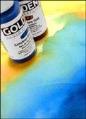 Golden Fluid Acrylic Colors