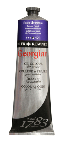 Daler-Rowney Georgian Oil Color - Color Buff Titanium - Size 225ml
