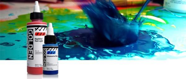 Golden High Flow Acrylics Rex Art Supplies