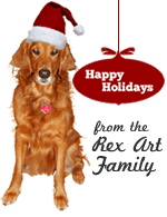 Happy Holidays from The Rex Art Family