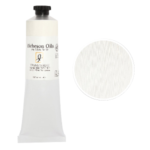 Richeson Oil, The Shiva Seriesß - Color Transparent Marble White - Size 1.25 oz