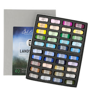 Richeson Soft Handrolled Pastels Set of 40 - Color Landscape