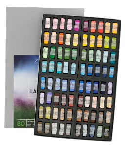 Richeson Soft Handrolled Pastels Set of 80 - Color Landscape