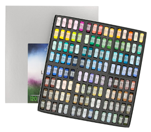 Richeson Soft Handrolled Pastels Set of 120 - Color Landscape
