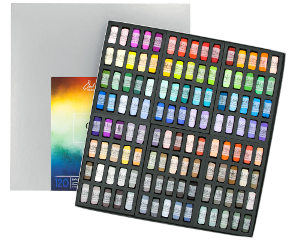 Richeson Soft Handrolled Pastels Set of 120 - Color Color Wheel