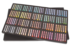 Richeson Medium-Soft Pastels Set of 120 Full Sticks - Color All Colors
