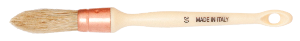 Short Handle Pointed Sash Brush - Size 2/0, 17mm