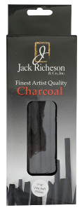 Richeson Natural Vine Charcoal Box of 25 - Jumbo Soft - Size 7/16