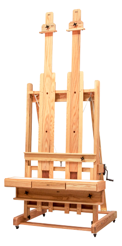 BEST Abiquiu Deluxe Easel with Melamine Tab Tray*