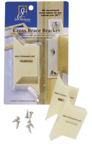BEST Cross Brace Bracket, Pack of 2