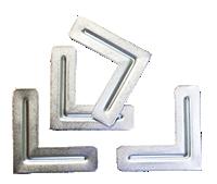 BEST Aluminum Corners - Pack of 4