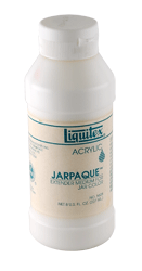 Liquitex Acrylic Jarpaque Extender Medium - Color Matte Opaque - Size 8 oz.