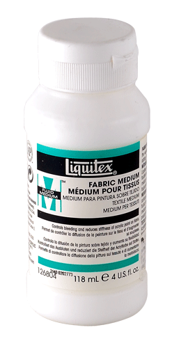Liquitex Acrylic Fabric Medium - Size 4 oz.