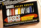 Liquitex Basics Introductory Set of 6 - Size .75 oz.