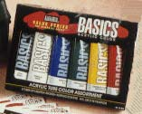 Liquitex Acrylic Basics Set of 6 Tubes - Color Assorted - Size 4 oz.