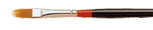 Loew Cornell La Corneille Filbert Rake Brush - Size 1/4