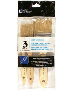 Loew Cornell Chip Brush Set (3 Pieces)