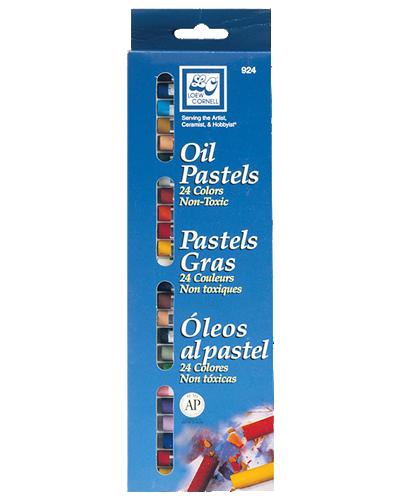 Loew Cornell Oil Pastel Set of 24