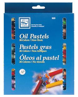 Loew Cornell Oil Pastel Set of 36