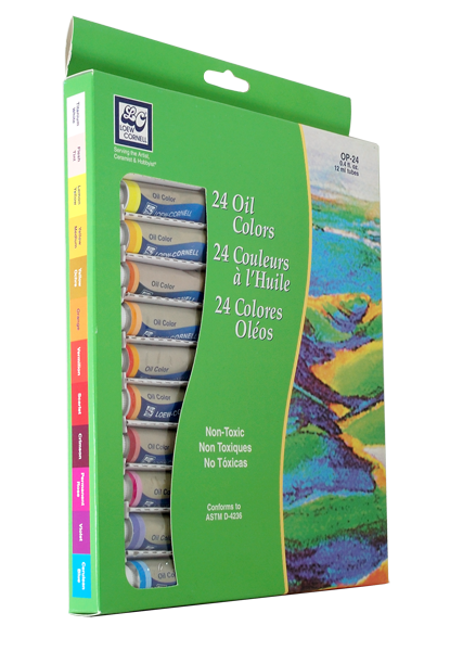 Loew Cornell Oil Paint Set of 24