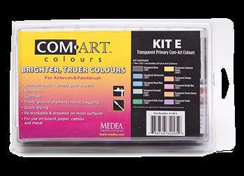 Com Art Colours Transparent Primary Kit E