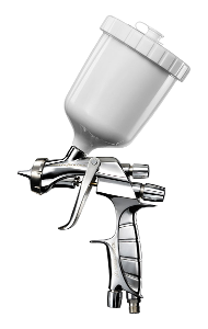 Anest Iwata Super Nova Spray Gun - HVLP LS 400-1402 (Clear) Silver Air Cap