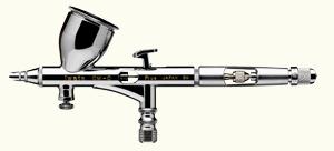 Iwata Custom Micron Airbrush - Model CM-C PLUS - Size .023mm