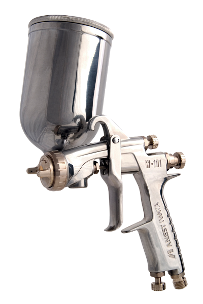 Anest Iwata Century Series W-101 / LPH-100 Spray Gun with PC-4S Cup