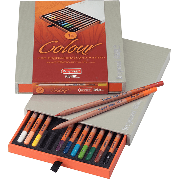 Bruynzeel Colour Colored Pencil Box Set of  12