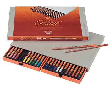 Bruynzeel Colour Colored Pencil Box Set of  24