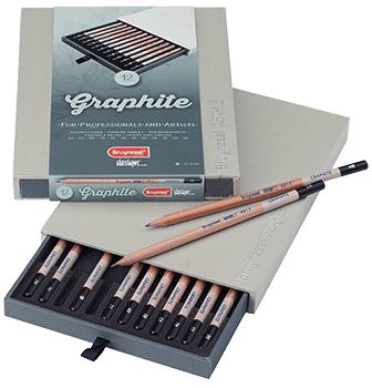 Bruynzeel Graphite Pencil Box Set of 12