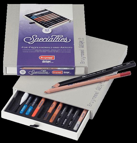 Bruynzeel Specialty Pencil Box Set of 12
