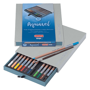 Bruynzeel Aquarel Pencil Box Set of 12
