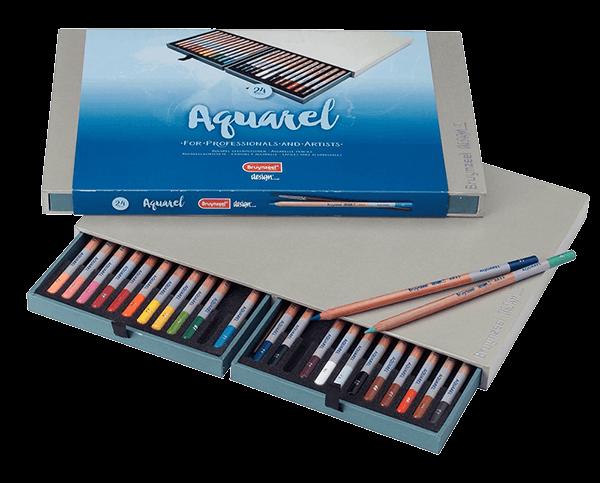 Bruynzeel Aquarel Pencil Box Set of 24