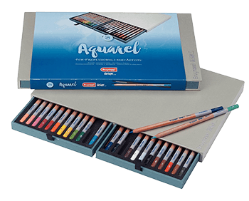 Bruynzeel Aquarel Pencil Box Set of 24