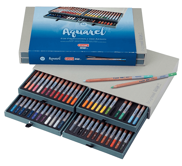 Bruynzeel Aquarel Pencil Box Set of 48
