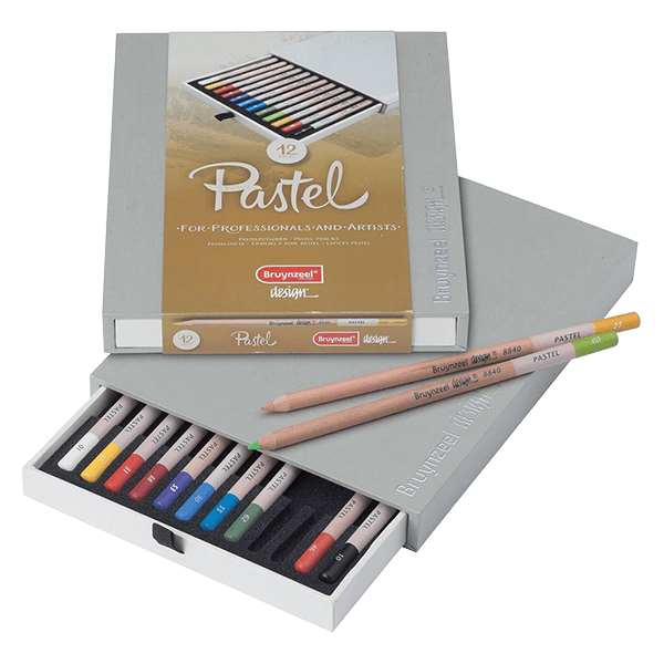 Bruynzeel Pastel Pencil Box Set of 12
