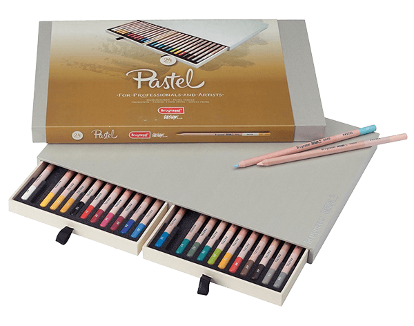 Bruynzeel Pastel Pencil Box Set of 24