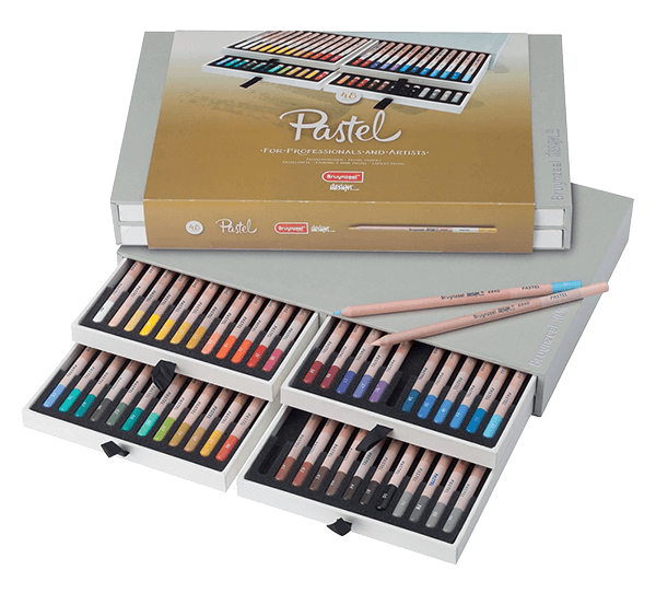Bruynzeel Pastel Pencil Box Set of 48