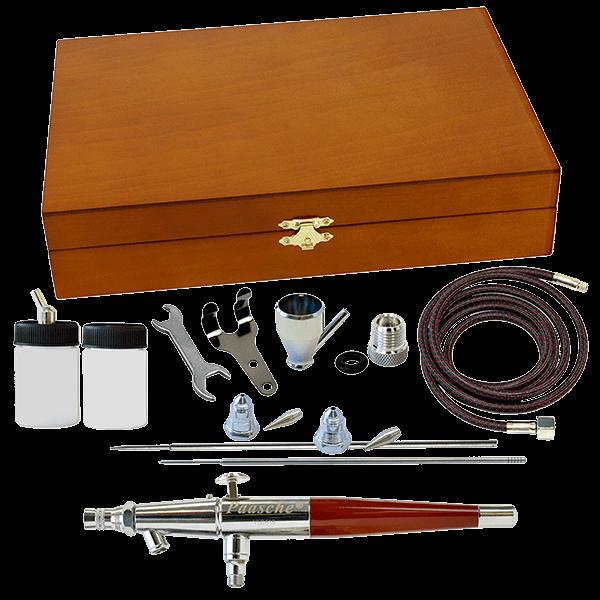 Paasche VL Wood Box Set