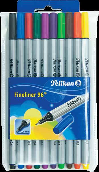 Pelikan Fineliner 96 Marker Basic 10 Piece Set