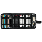 Rex Art Universal Multi-Media Case (Holds 24 Items)